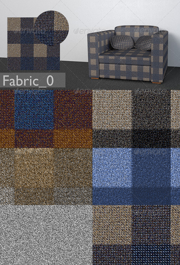 3DOcean 5 Furniture Textiles vol.1 7248484