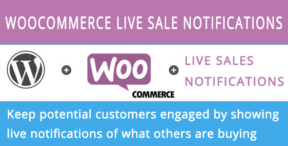 CodeCanyon Woocommerce live sales notification 7248719