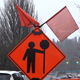 Rain - 12 - Road Traffic & Construction Sign - VideoHive Item for Sale