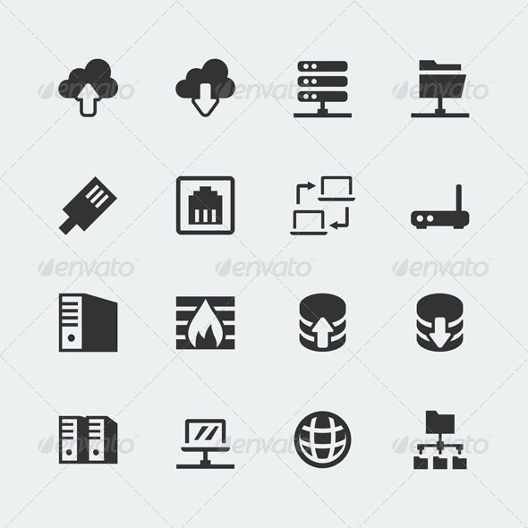 GraphicRiver Network icons 7163424