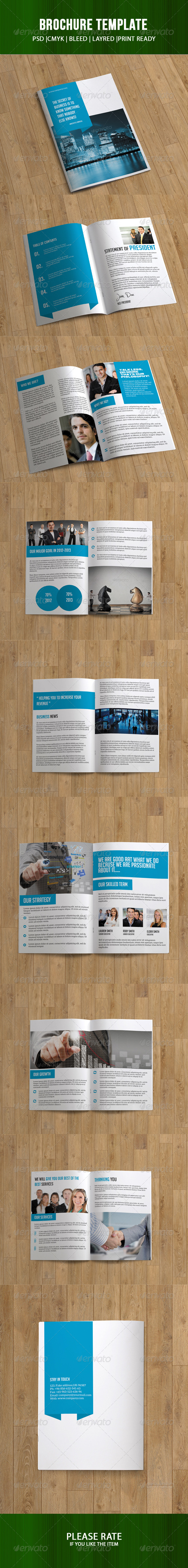 GraphicRiver Business Brochure 16 Pages 7249055
