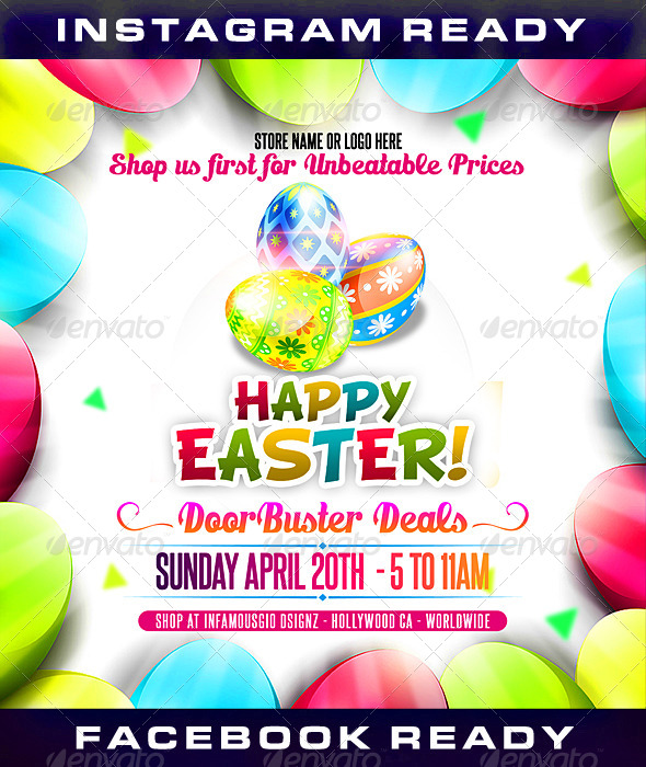GraphicRiver Easter 3 7249533