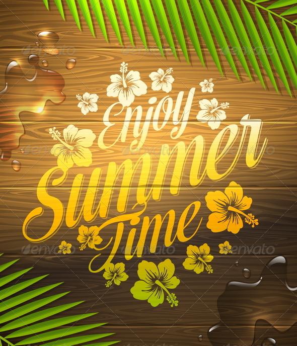 GraphicRiver Summer Holidays Design 7249816