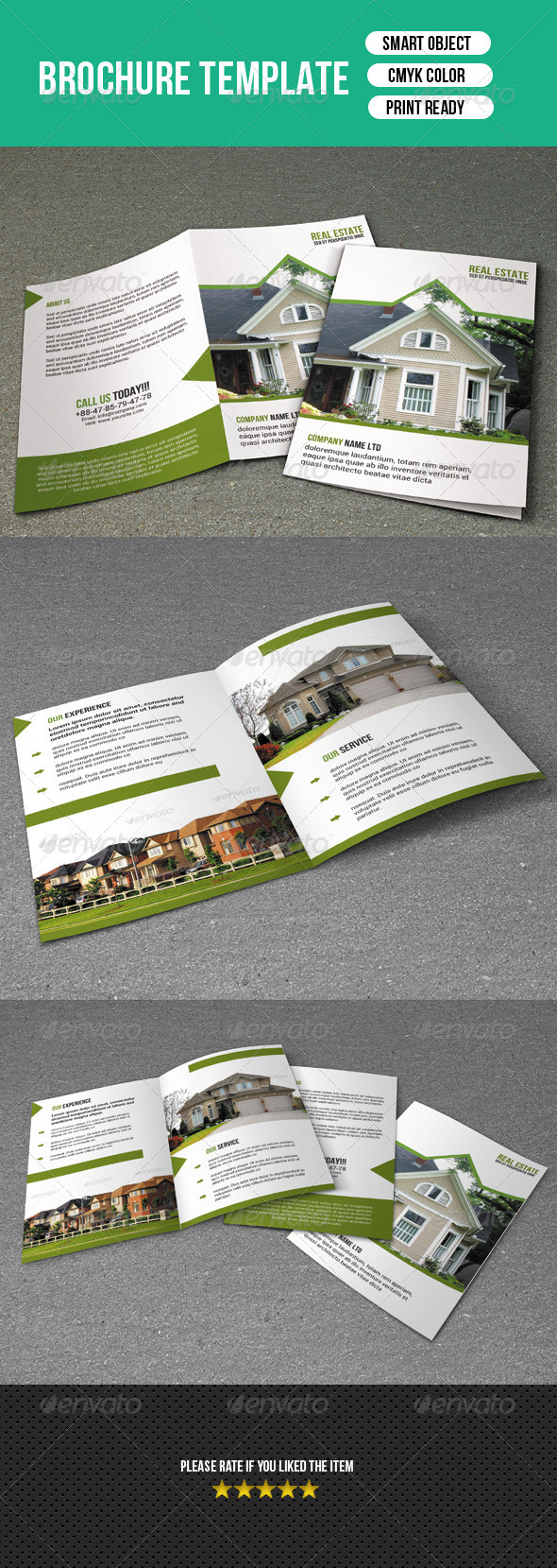 GraphicRiver Bifold Brochure-Real Estate 7249966