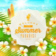 Summer Vacation Illustration - GraphicRiver Item for Sale