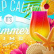 Summer Tropical Holidays Design - GraphicRiver Item for Sale