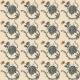 Elegance Seamless Pattern with Flowers Ornament - GraphicRiver Item for Sale