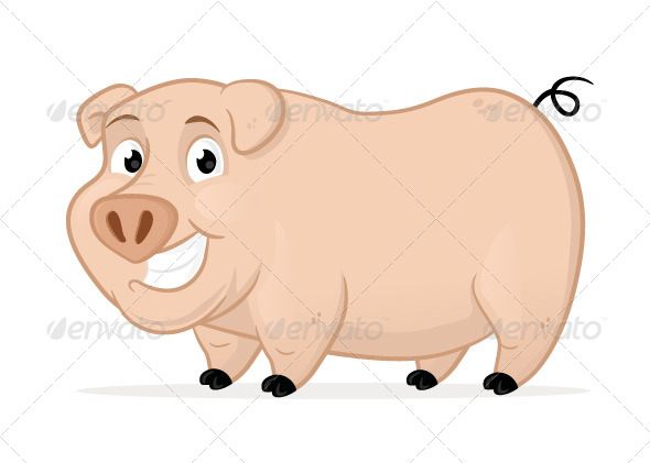 GraphicRiver Pig 7250877