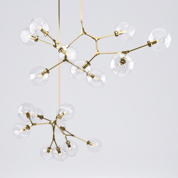 3DOcean Branching Bubble Chandelier 7251093