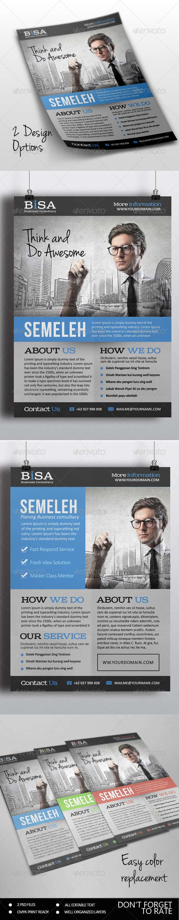 GraphicRiver Standard Business Flyer 7251098