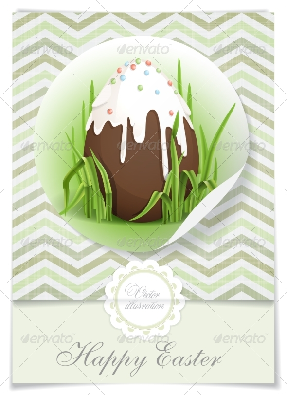 GraphicRiver Chocolate Easter Egg 7251346