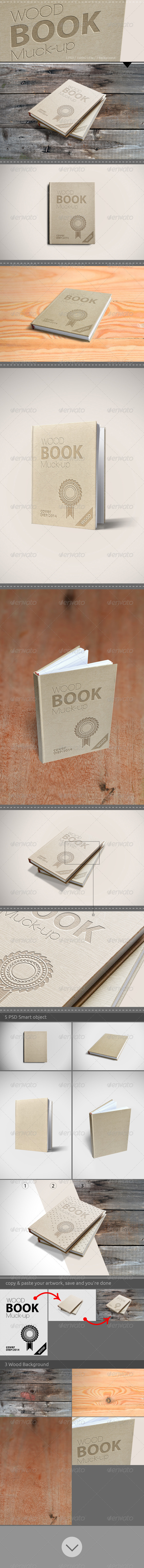 GraphicRiver Book Mock-Up 7232893