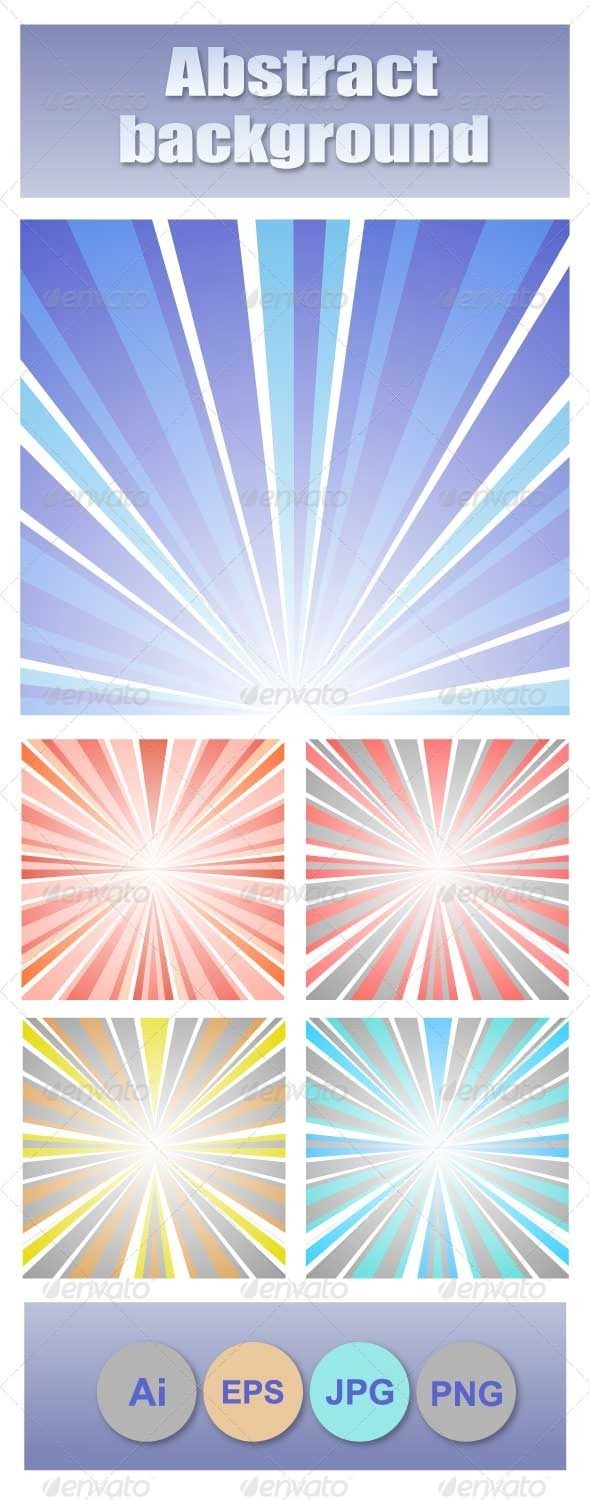 GraphicRiver Abstract Sunset 7251458