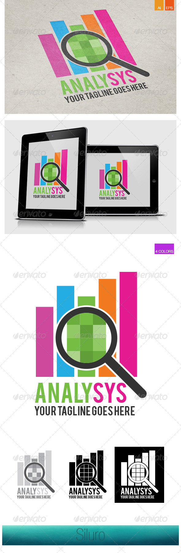 GraphicRiver Analysys Logo 7251557