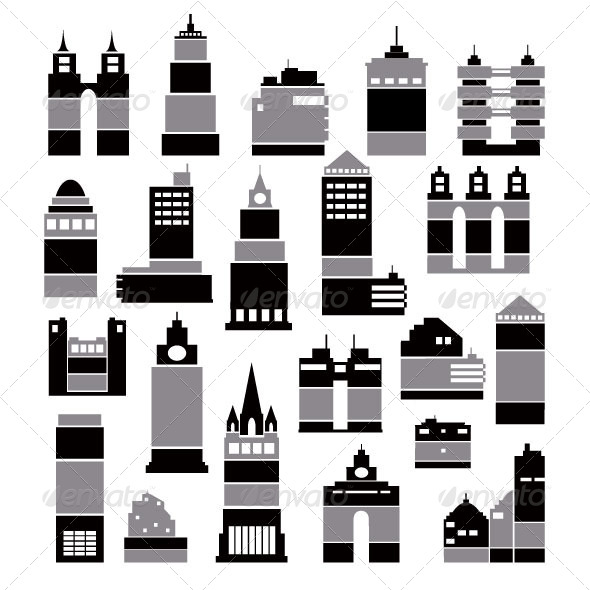 GraphicRiver City Buildings 7251573
