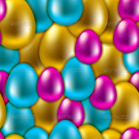 GraphicRiver Seamless Easter Background 7251629