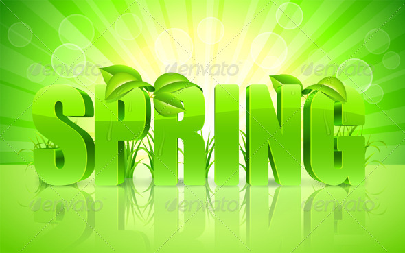 GraphicRiver Spring Background 7251798