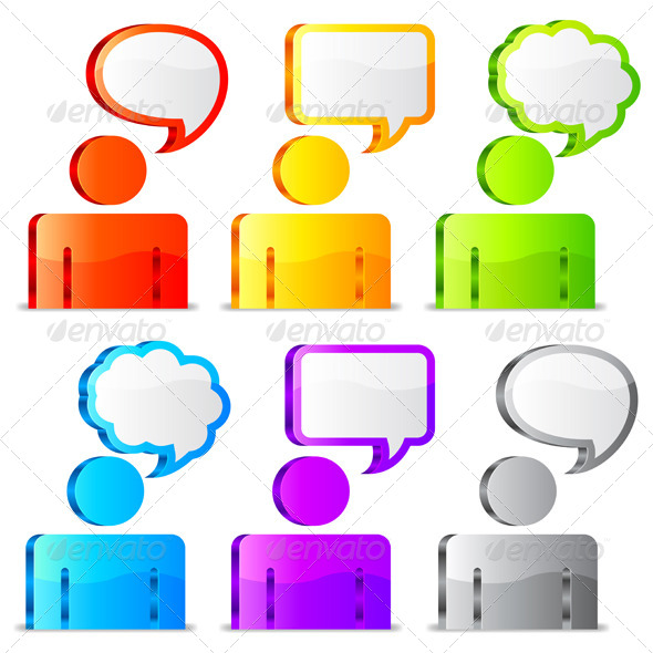 GraphicRiver Speech Icons 7251808