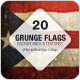 Grunge Flags - 20 Countries (Collection 2) - GraphicRiver Item for Sale