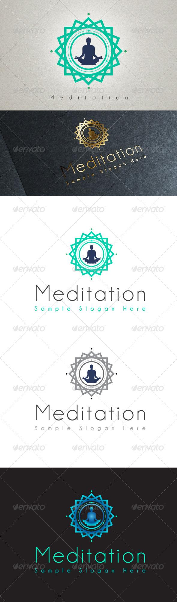 GraphicRiver Meditation Logo 7252055