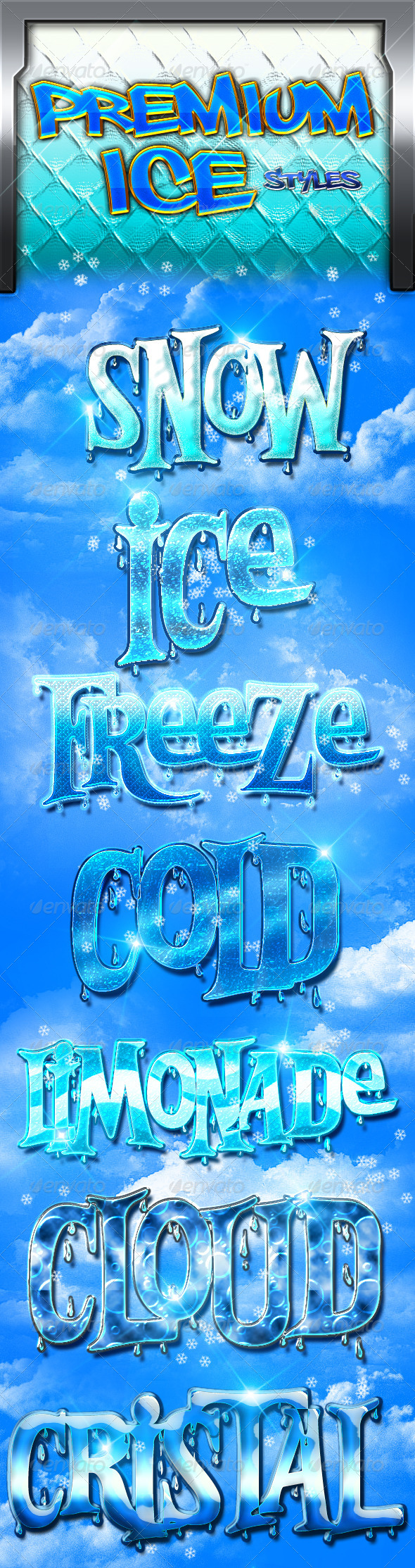 GraphicRiver Ice Styles 7252297