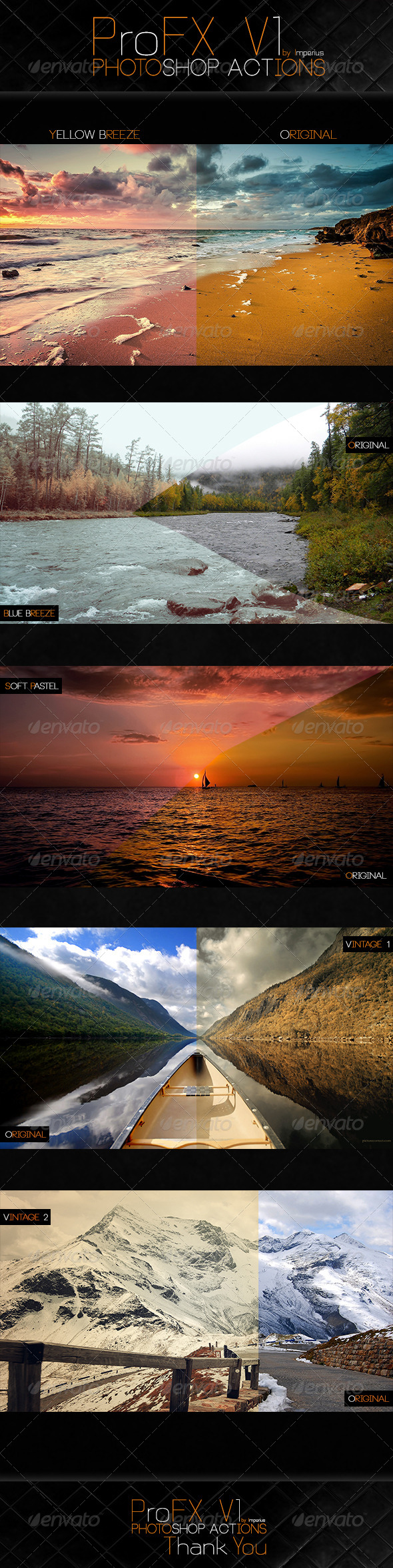 GraphicRiver ProFX V1 Actions 7252421