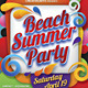 Beach Summer Party - GraphicRiver Item for Sale