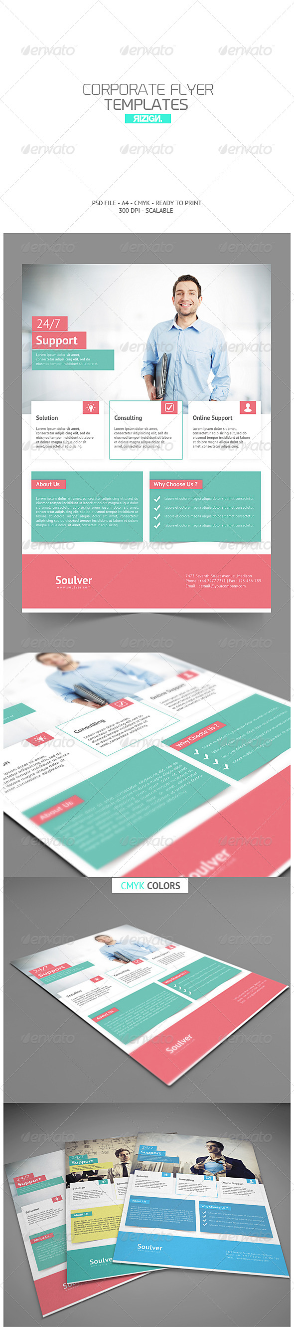 GraphicRiver Multipurpose Business Flyer 7253775