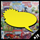 Vintage Comic Book Speech Bubbles - GraphicRiver Item for Sale