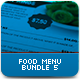 Food Menu Bundle 5 - GraphicRiver Item for Sale