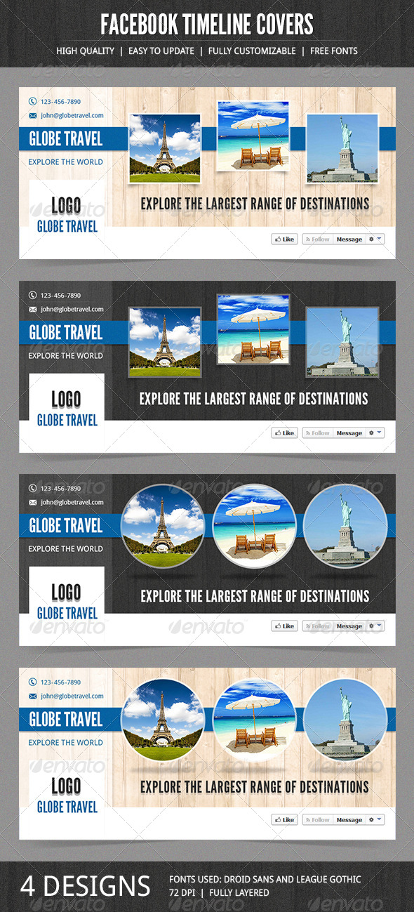 GraphicRiver Business Facebook Timeline Covers 7254134