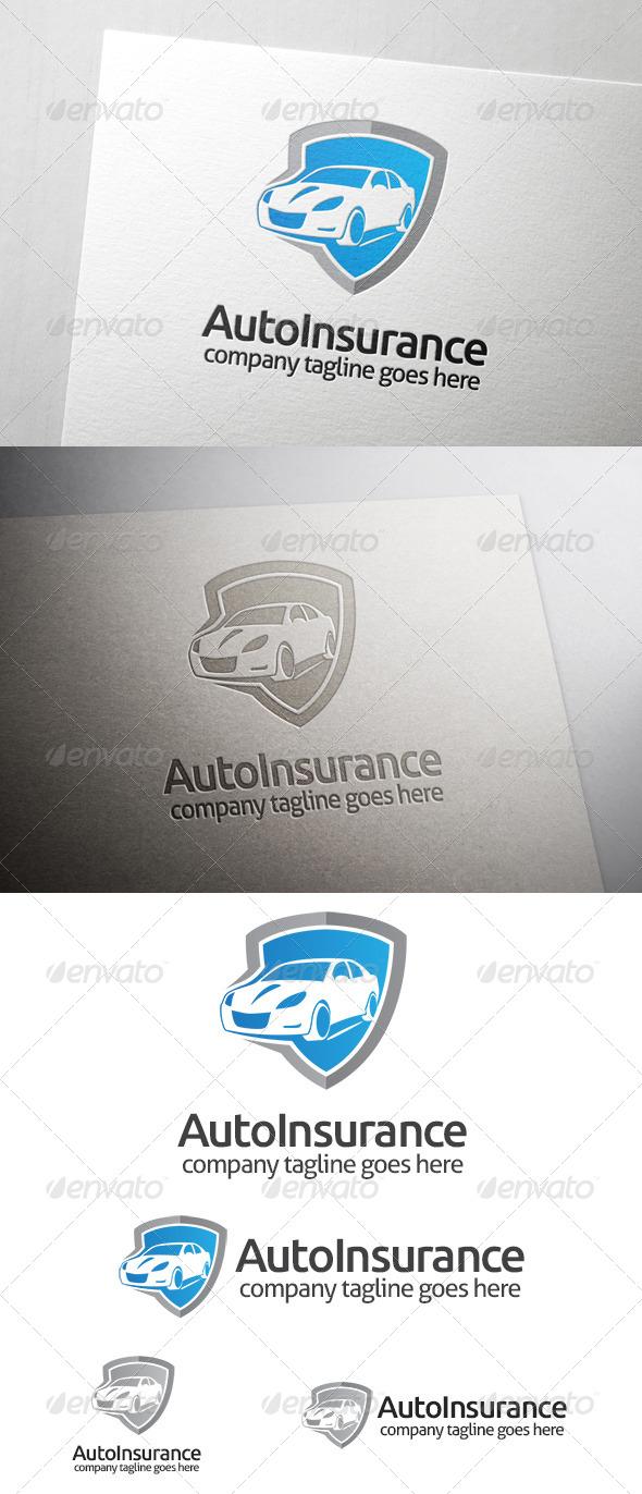 GraphicRiver Automotive Insurance Logo 7254264