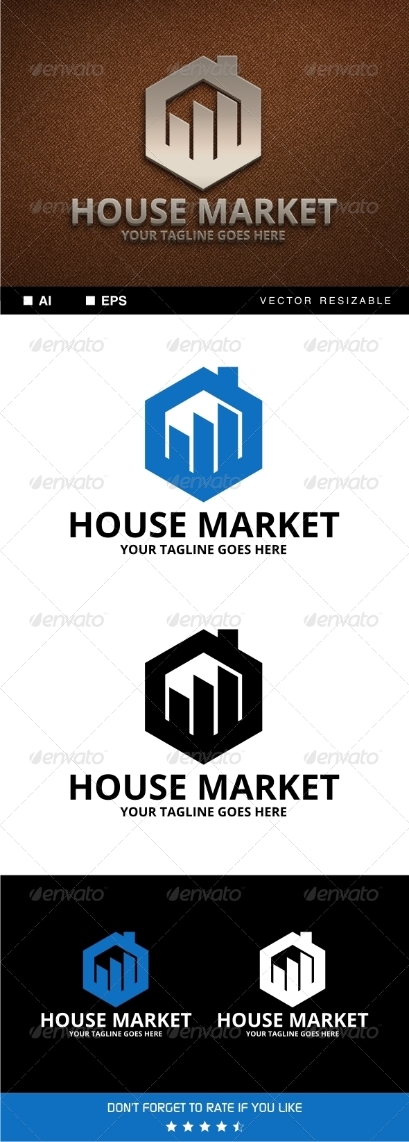 GraphicRiver House Market Logo 7254852