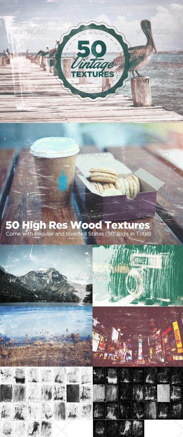 GraphicRiver 50 Vintage Grain Textures 7255072