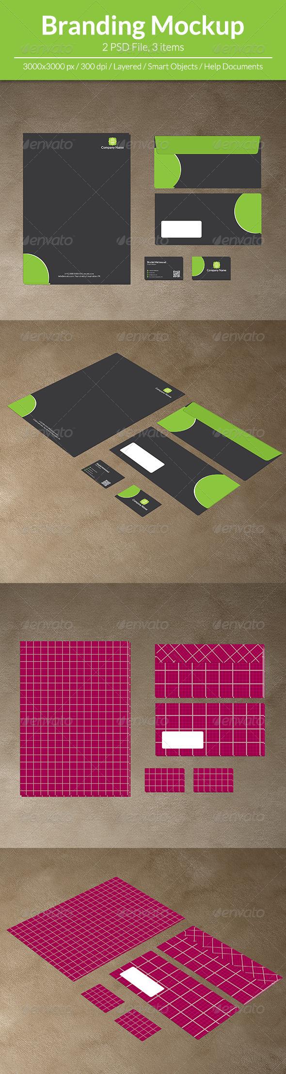 GraphicRiver Branding Mockup 7255180