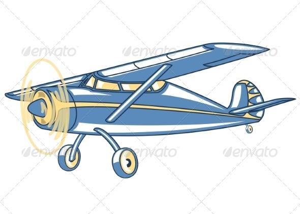GraphicRiver Airplane 7255866