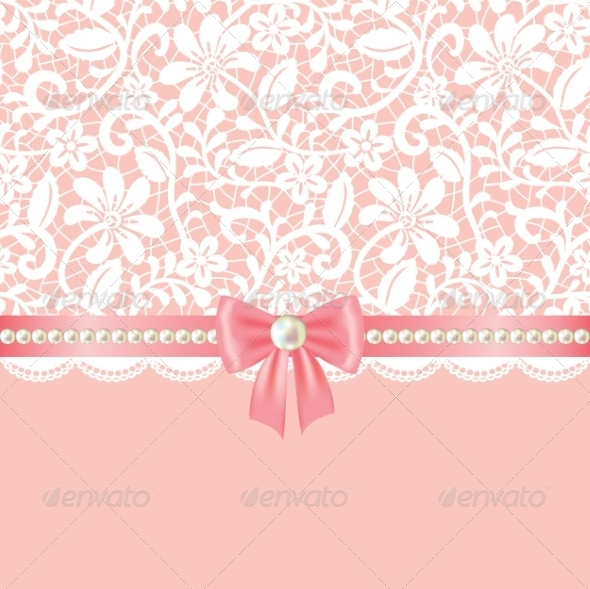 GraphicRiver Lace Background 7255876