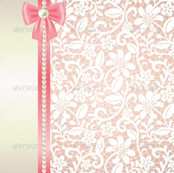 GraphicRiver Lace Background 7255924