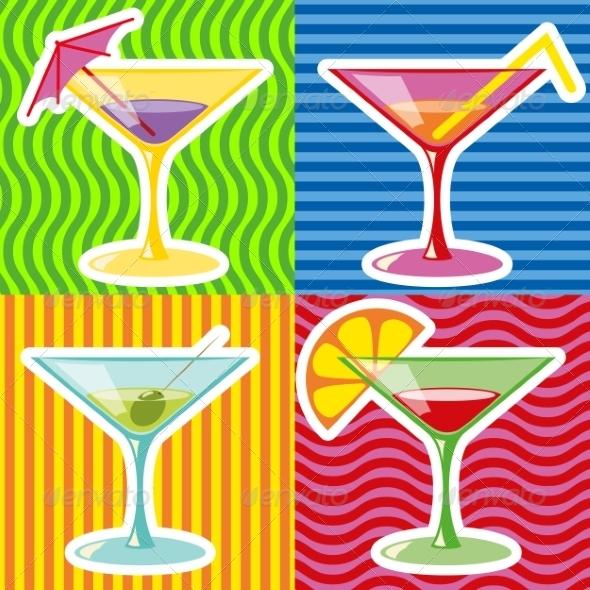 GraphicRiver Martini 7255933
