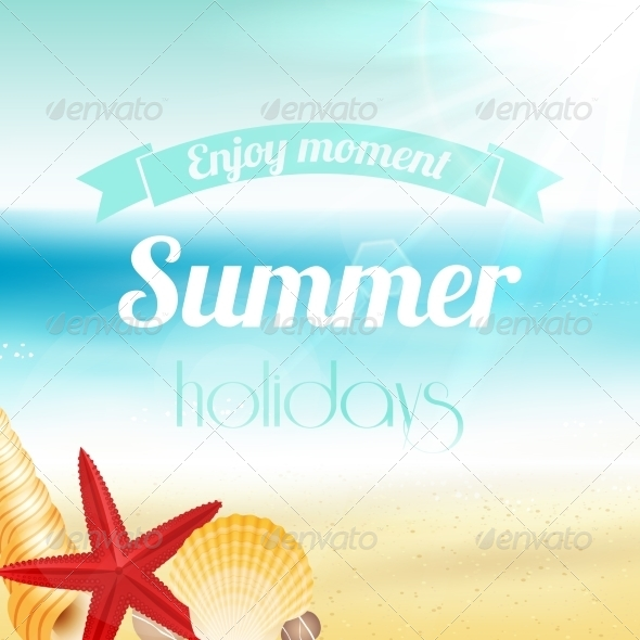 GraphicRiver Summer Holiday Vacation Poster 7256173