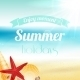 Summer Holiday Vacation Poster - GraphicRiver Item for Sale