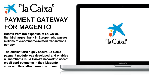 CodeCanyon La Caixa Payment Gateway for Magento 7256354
