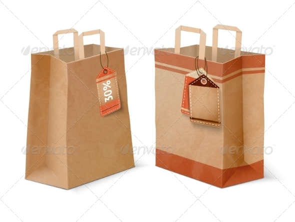GraphicRiver Shopping Paper Bags 7256384