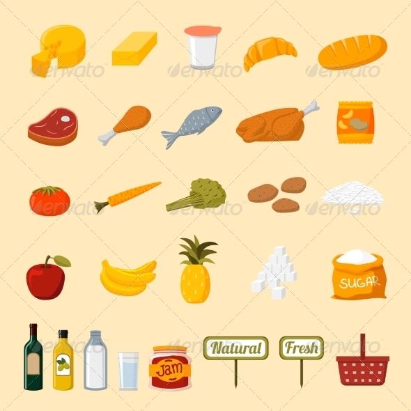GraphicRiver Supermarket Food 7256390