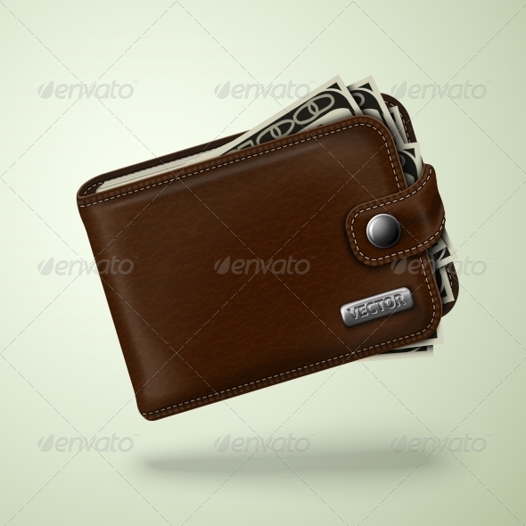 GraphicRiver Leather Wallet 7256391