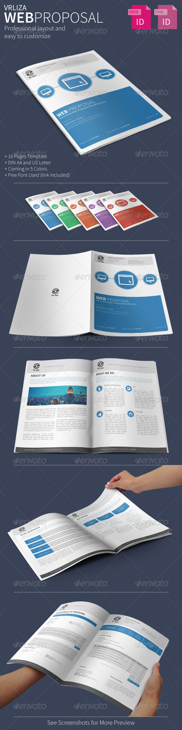 GraphicRiver Web Proposal 7256523