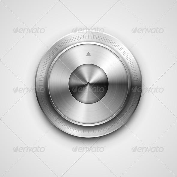 GraphicRiver Metallic Knob 7256530