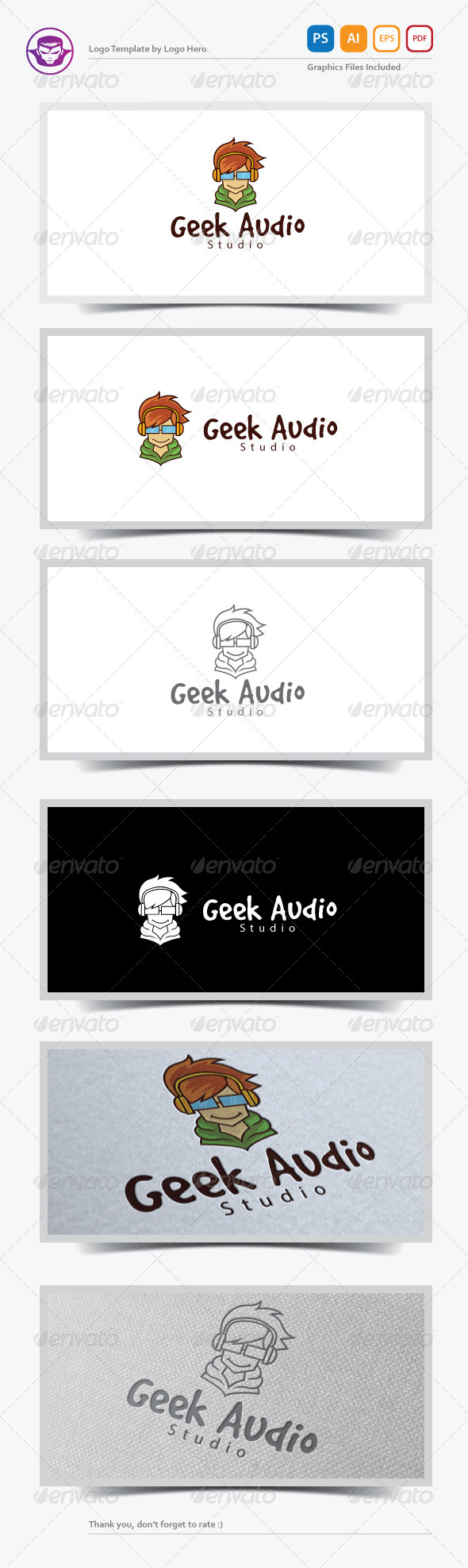 GraphicRiver Geek Audio Logo Template 7258157