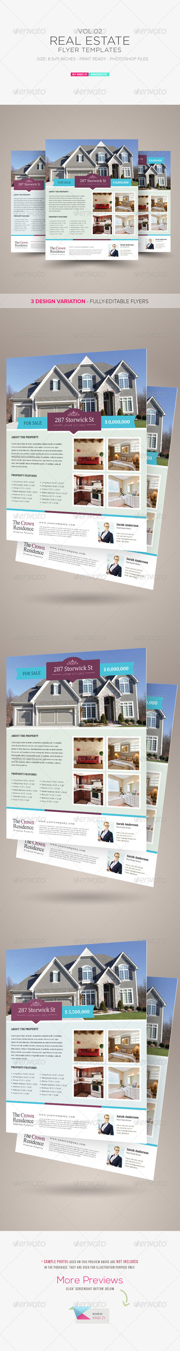 GraphicRiver Real Estate Flyer Template Vol.02 7227738