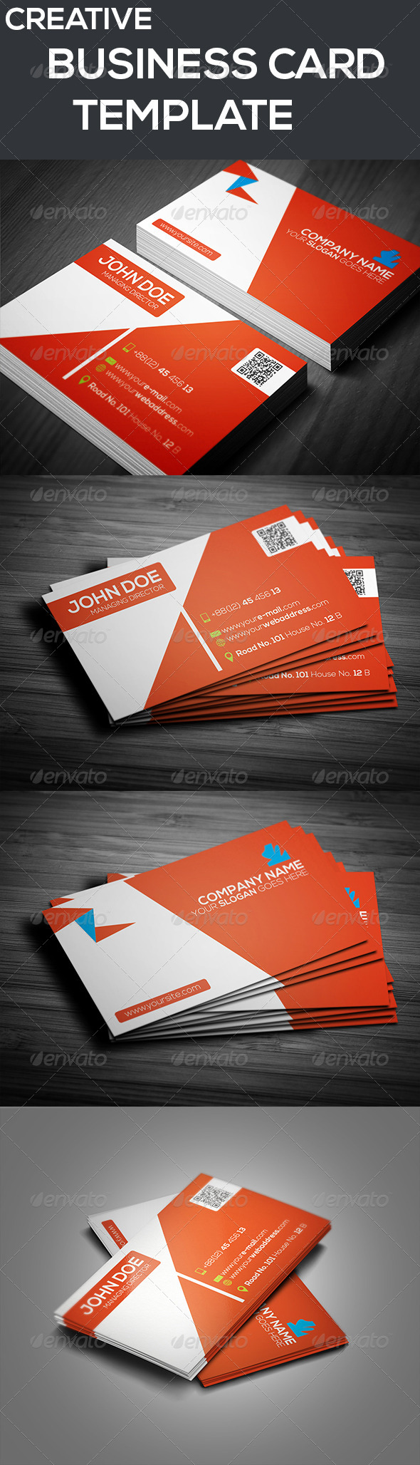 GraphicRiver Creative Business Card Template 7258349